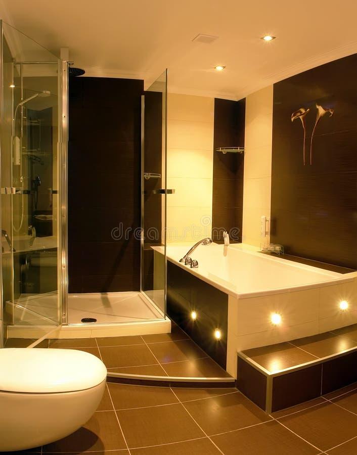 bathroom modern στοκ εικόνα με δικαίωμα ελεύθερης χρήσης