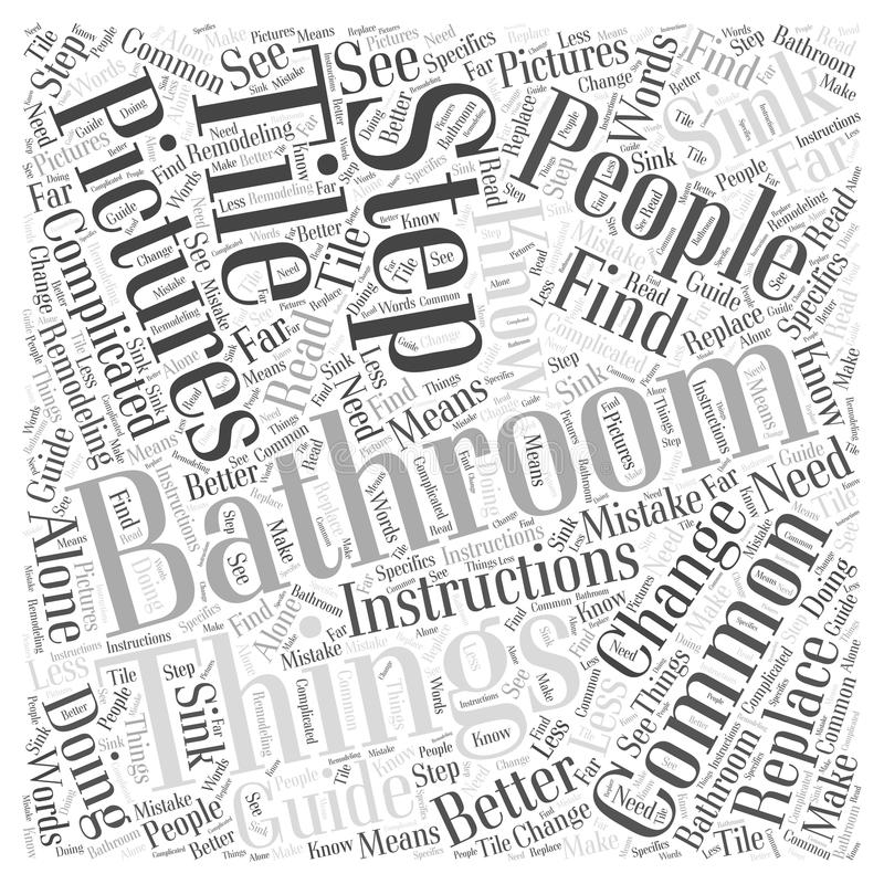 Bathroom remodeling pictures 24 word cloud concept vector background stock illustration