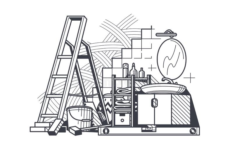 Home Repair Home Improvement Renovation House PNG, Clipart, Area, Black And  White, Building, Chimney, Handyman Free