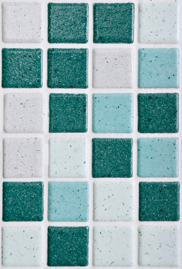 Bathroom's tiles royalty free stock photo