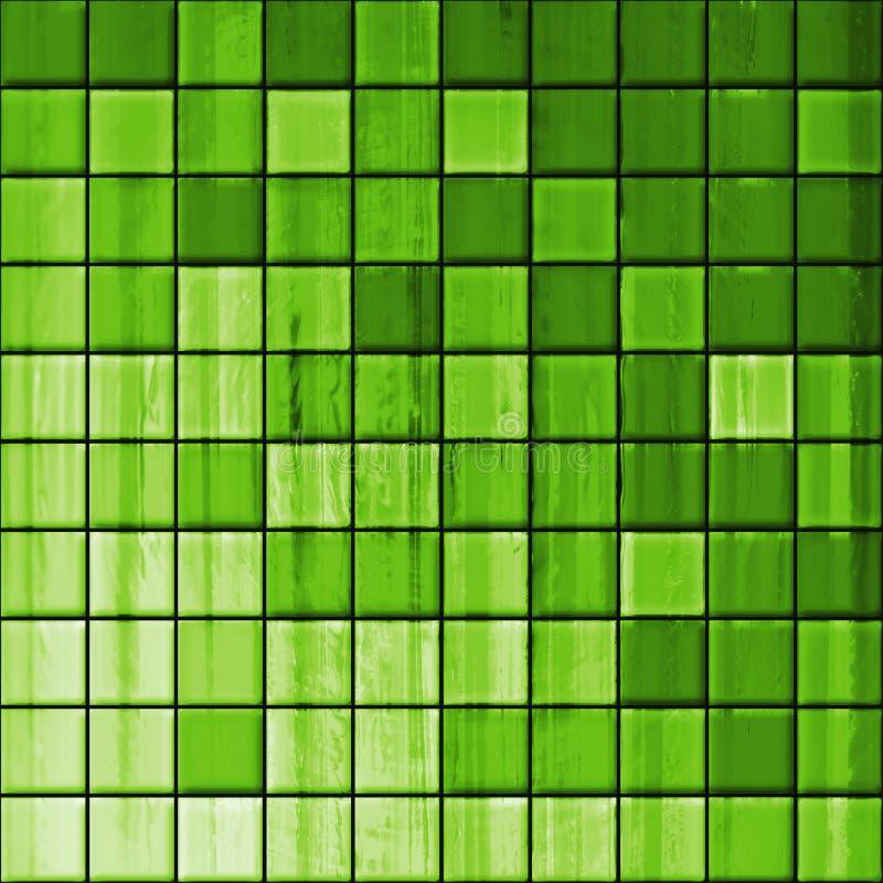 Bathroom's tiles stock illustration