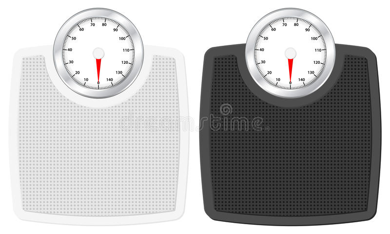Download Bathroom scale stock vector. Image of weight, balance - 20284963