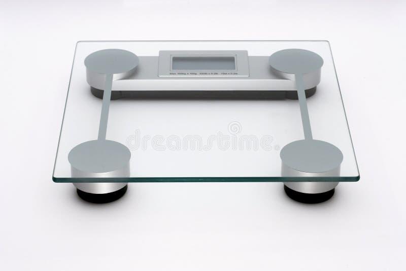 Bathroom scales royalty free stock image