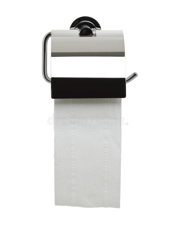 Download Bathroom Series - Toilet Paper Holder Stock Photo - Image: 12857334