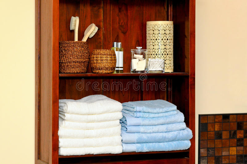 Bathroom Shelf Stock Photography