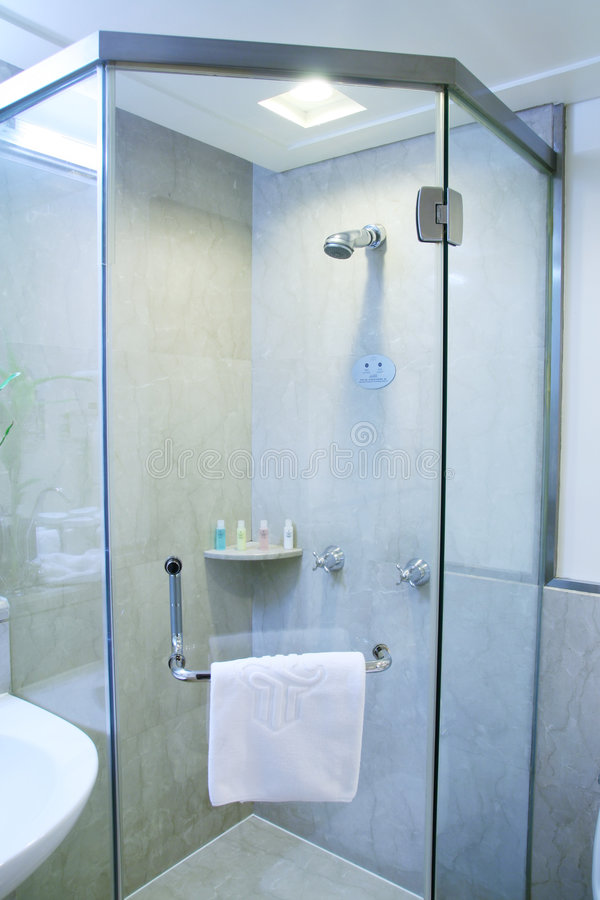 Download Bathroom shower stock image. Image of faucet, hydro, plumbing - 8294813