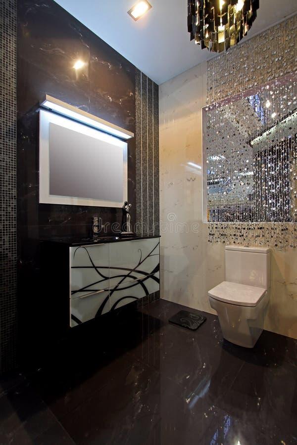 Bathroom sparkling stock images