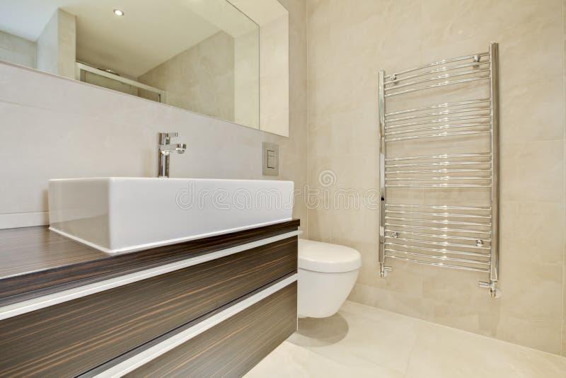 Bathroom style royalty free stock image