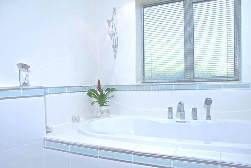 Bathroom UK stock image