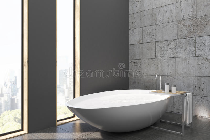Download Bathroom With White Tub Stock Illustration - Image: 83722924
