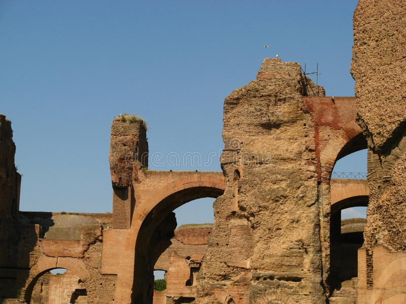 Download Baths of Caracalla 07 stock photo. Image of city, ancient - 22596872