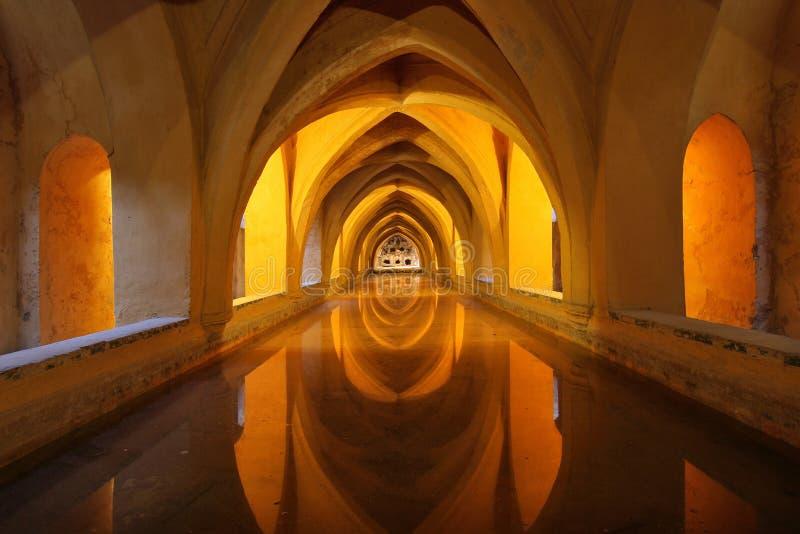 Baths of Lady Maria de Padilla stock images