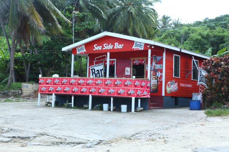 Bathsheba, Barbados fotografia de stock