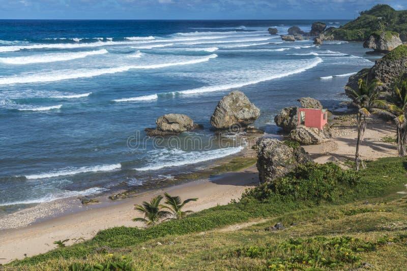 Bathsheba Barbados stock images