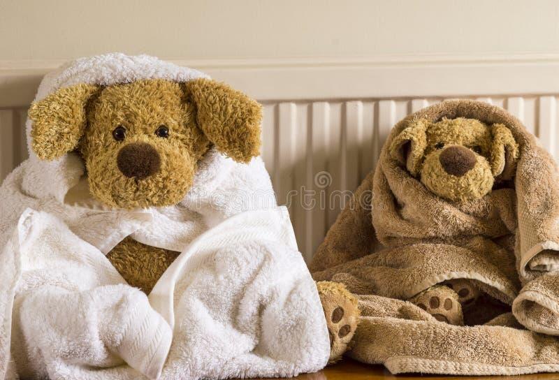 Bathtime для мальчиков стоковое фото