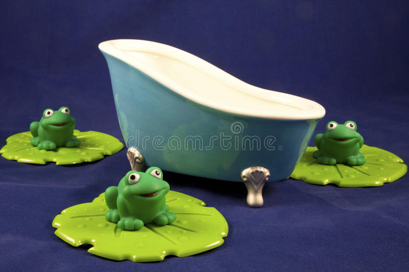 Download Bathtime stock photo. Image of concept, frogs, water - 23314186
