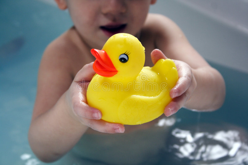 Bathtime stock photos