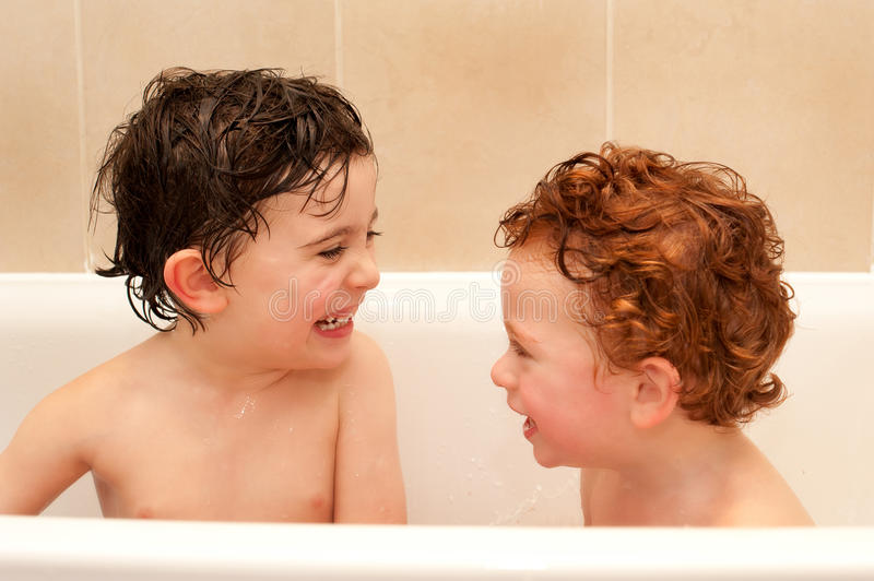 Bathtime Fun Royalty Free Stock Images