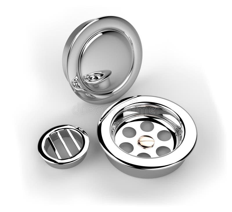 Download Bathtub Drain Plugs Stock Images - Image: 33539754