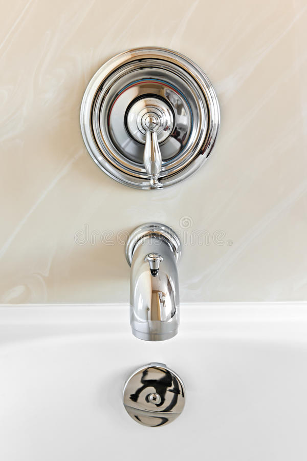 Download Bathtub faucet stock image. Image of marble, room, inside - 19672551