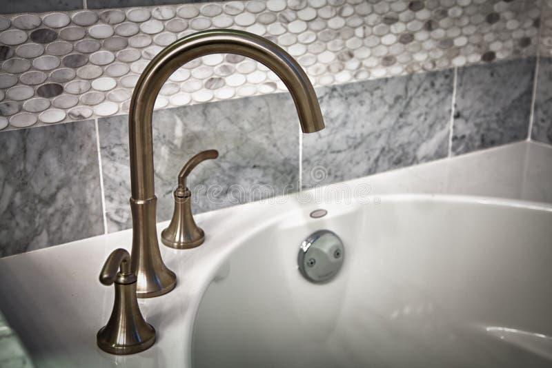 Download Bathtub faucet stock image. Image of house, brushed, bathtub - 23959911