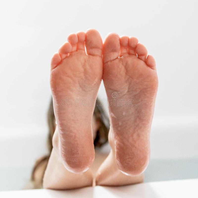 Bathtub Feet stock photo. Image of background, bath, water - 89415086