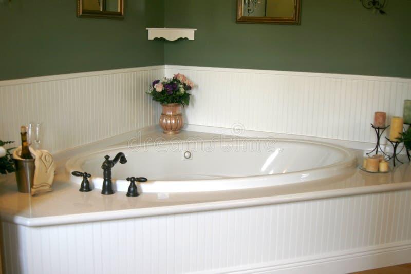 bathtub retro white στοκ φωτογραφίες με δικαίωμα ελεύθερης χρήσης