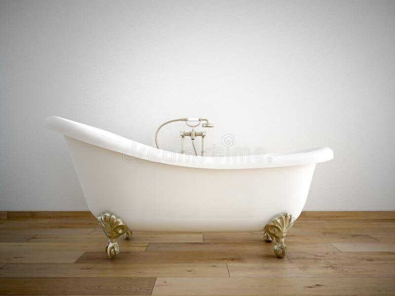 Bathtube stock illustratie