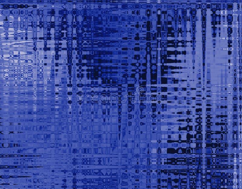 Batic azul ilustração do vetor