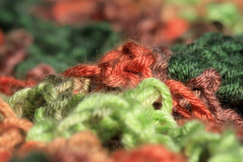 Batic yarn, abstract background. Macro photography. royalty free stock photography
