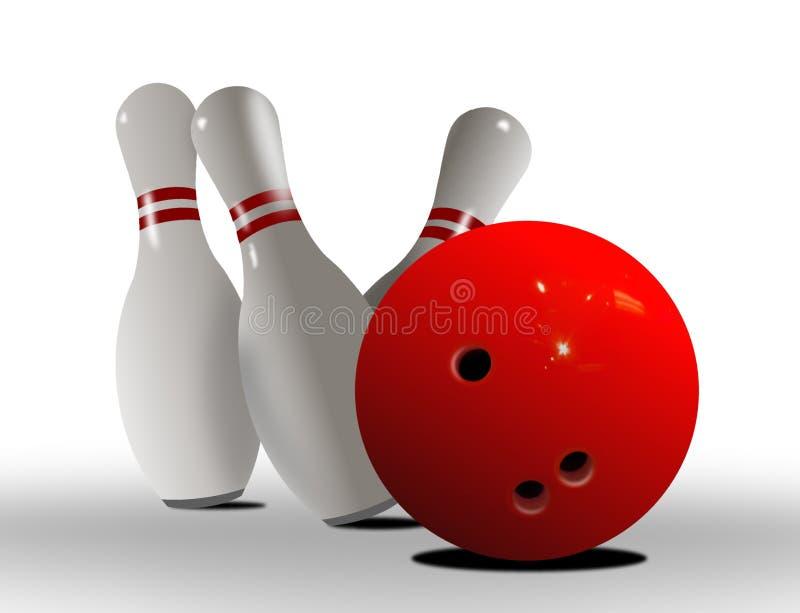 Download Batida Da Esfera De Bowling Ilustração Stock - Ilustração de esporte, esfera: 16863455