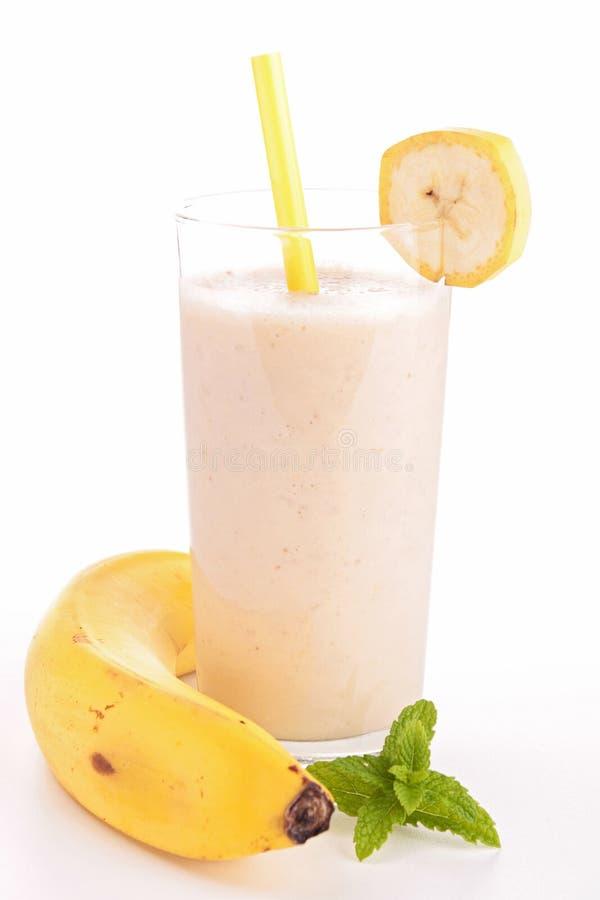 Batido da banana imagem de stock