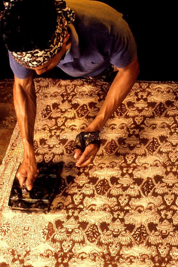 Batik immagine stock