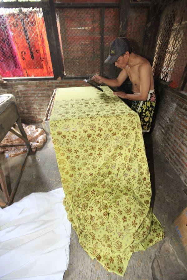 Batik fotografía de archivo libre de regalías