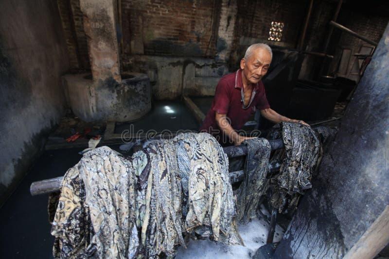 Batik imagens de stock