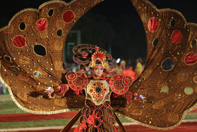 Batik Carnaval stock afbeeldingen