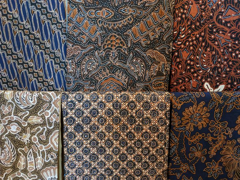 Batik cloth motif from Yogyakarta, Indonesia. Use for background or wallpaper royalty free stock image
