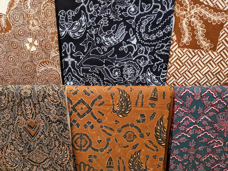 Batik cloth motif from Yogyakarta, Indonesia. Use for background or wallpaper stock photo