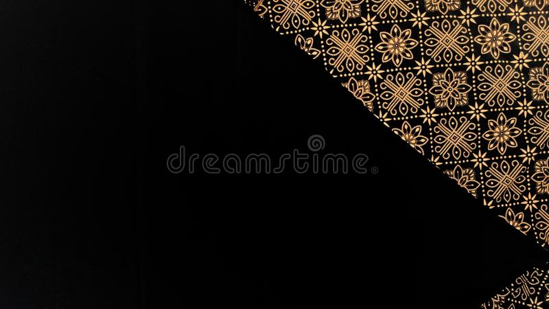 Batik cloth motif from Yogyakarta, Indonesia. Use for background or wallpaper royalty free stock photos
