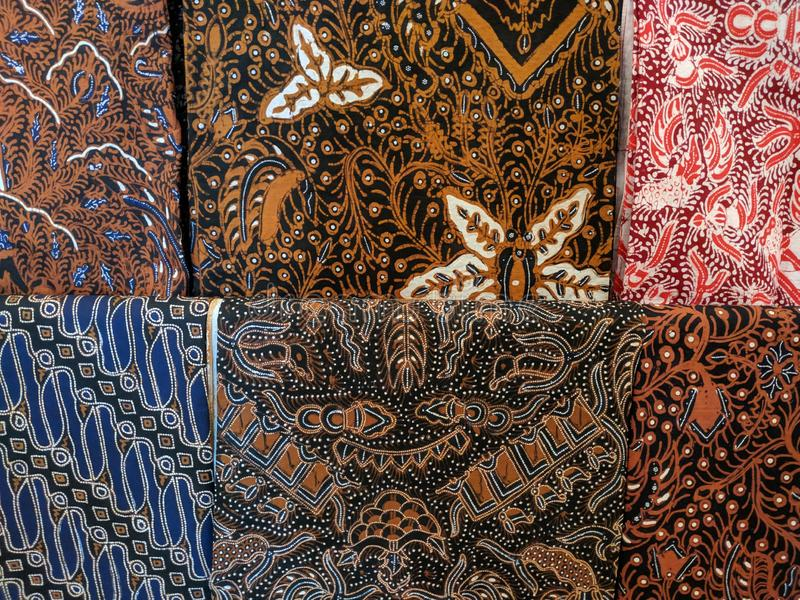 Batik cloth motif from Yogyakarta, Indonesia. Use for background or wallpaper royalty free stock photography