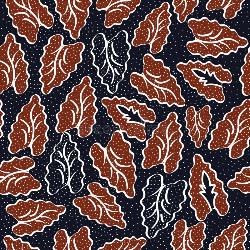 Batik d'Indonésie illustration libre de droits
