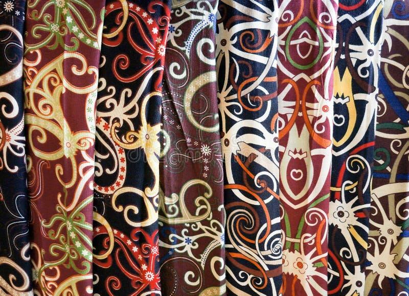 Batik de Borneo imagen de archivo libre de regalías
