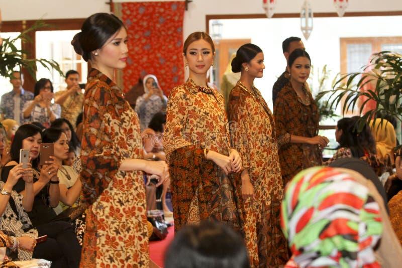 Batik de seda fotografia de stock