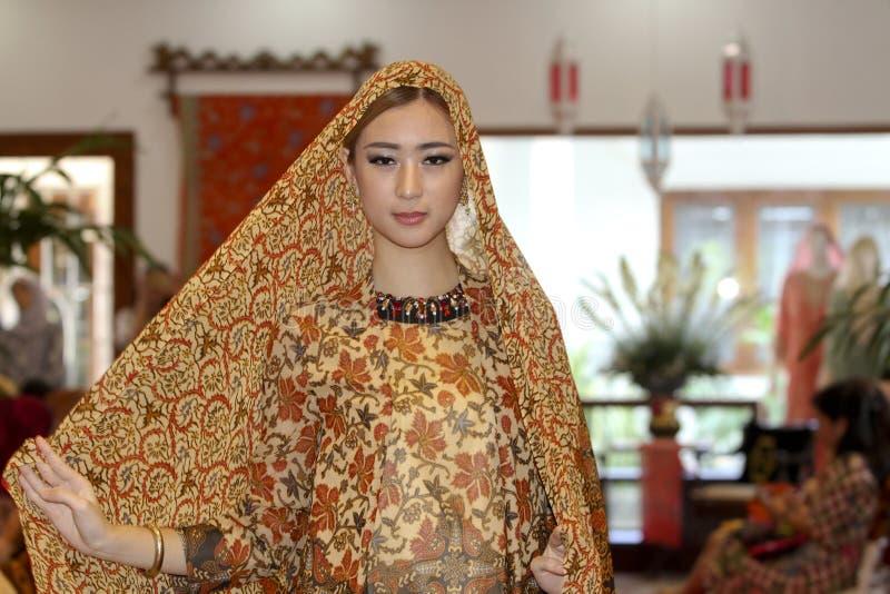Batik de seda imagem de stock royalty free