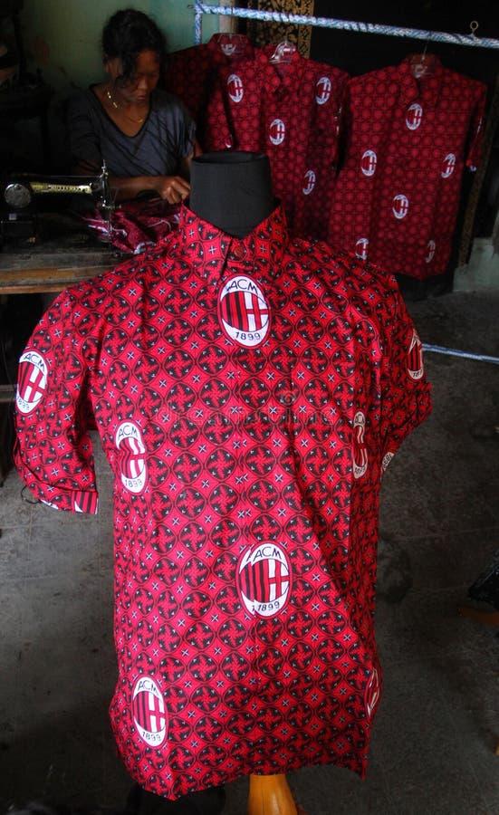 Batik del fútbol imágenes de archivo libres de regalías