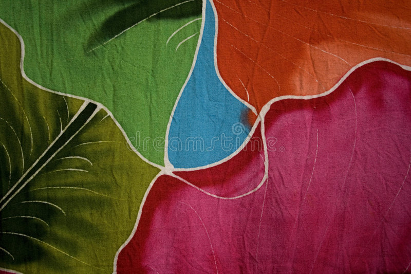 Batik fabric royalty free stock photography
