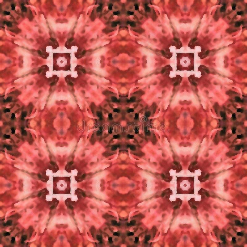 Batik Fractal Strings Love vector illustration