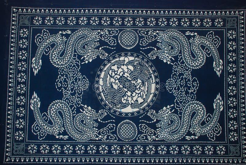 Batik het schilderen stock foto