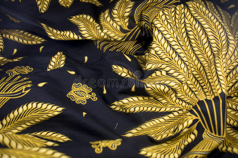 Batik javanese java indonesia culture fabric stock photos