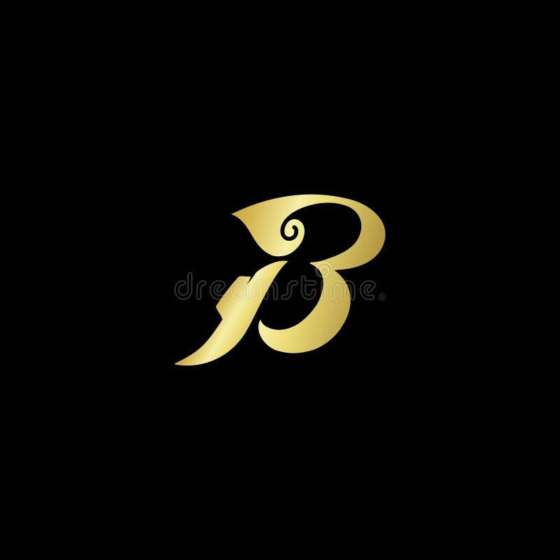 Batik Logo Design. Canting, batik, fashion, brand, letter, initial stock illustration